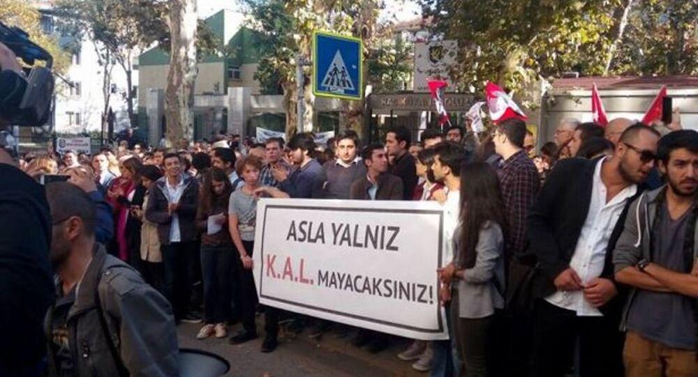Kadıköy Anadolu Lisesi'nde proje okula karşı eylem