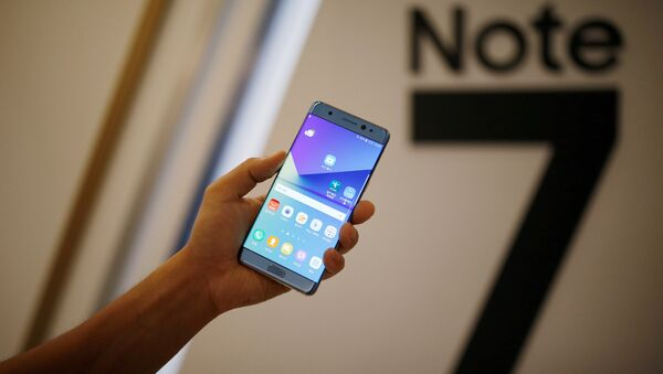 Galaxy Note 7 - Sputnik Türkiye