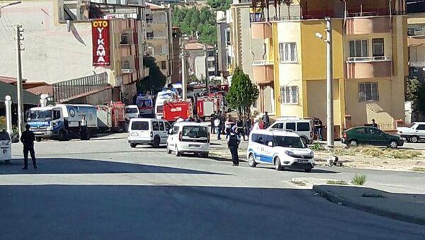 Hücre evi basılınca 'canlı bomba' kendini patlattı - Gaziantep - Sputnik Türkiye