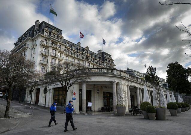 Lozan Antlaşması'nın imzalandığı Beau-Rivage Palace Oteli