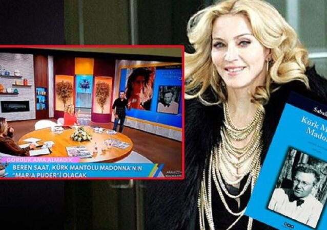 Kürk Mantolu Madonna kitabı