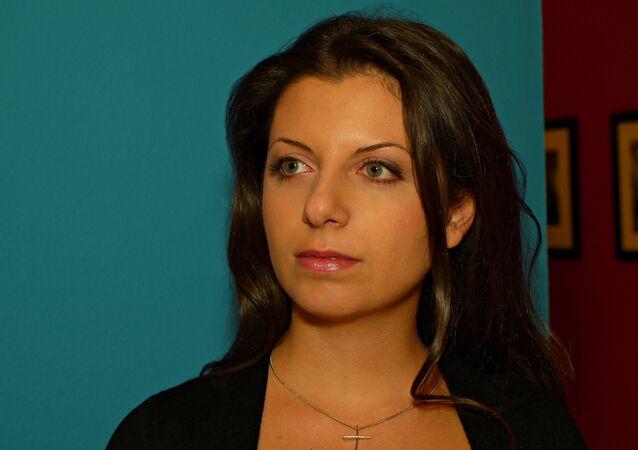 Rt ve Sputnik Genel Yayın Yönetmeni Margarita Simonyan