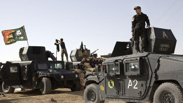 Musul'u IŞİD'den kurtarma operasyonu başladı - Sputnik Türkiye