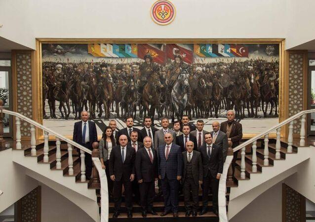 Türk diasporası Kırgızistan'da buluştu