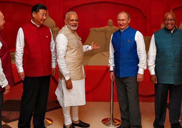 Vladimir Putin Hindistan'da