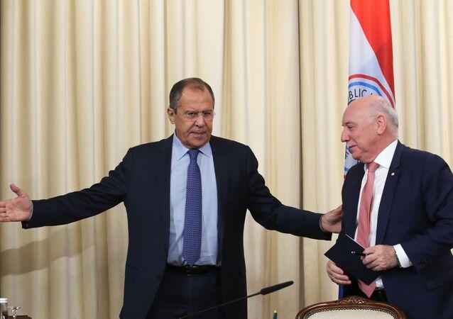 Rusya Dışişleri Bakanı Sergey Lavrov- Paraguaylı mevkidaşı Eladio Loizaga