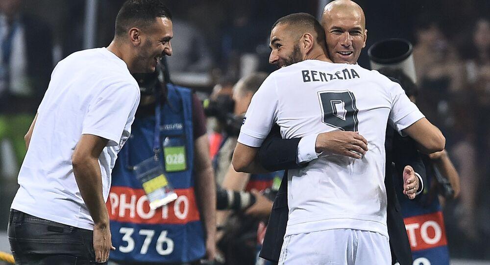 Zinedine Zidane ve Karim Benzema
