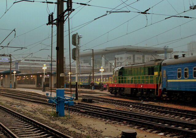 Kiev tren istasyonu