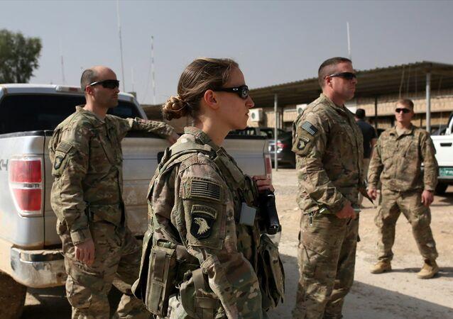 Musul operasyonuna katılan ABD askerleri