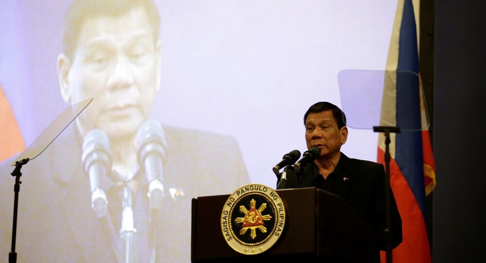 Duterte, ilk kez Çin'de