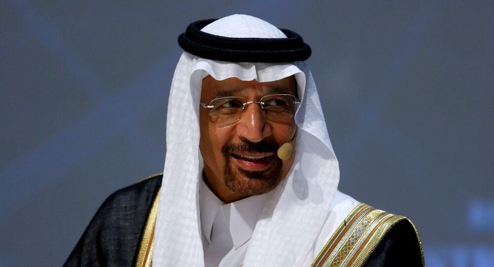 Suudi Arabistan Enerji Bakanı Halid el Falih