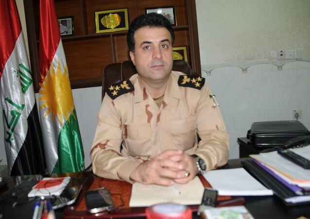 Irak Kürt Bölgesel Yönetimi Peşmerge Bakanlığı sözcüsü Helgurt Hikmet