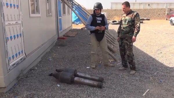 IŞİD kimyasal silah-IŞİD havan mermilerinin başlığında kimyasal toz - Sputnik Türkiye