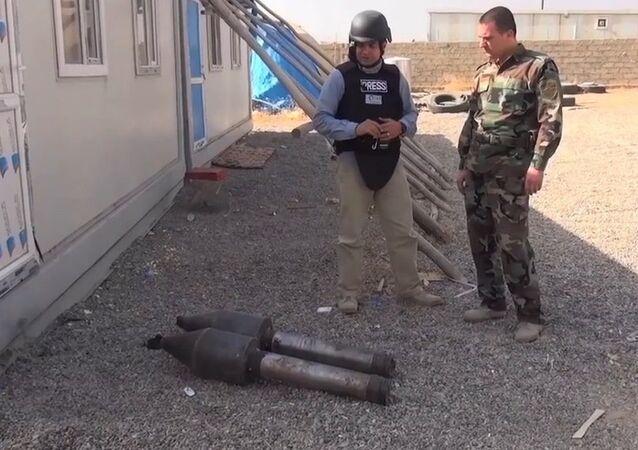 IŞİD kimyasal silah-IŞİD havan mermilerinin başlığında kimyasal toz