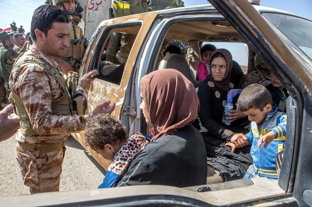 Musul'dan sivil kaçışlar sürüyor