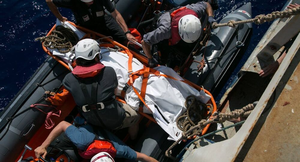 Libya'da sığınmacı botuna müdahale