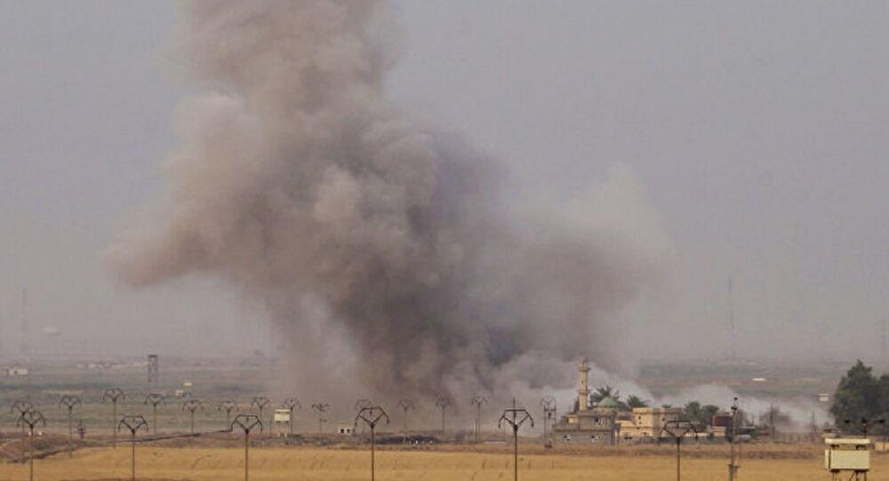 Irak Dakuk-Koalisyon güçleri Irak'a saldırı