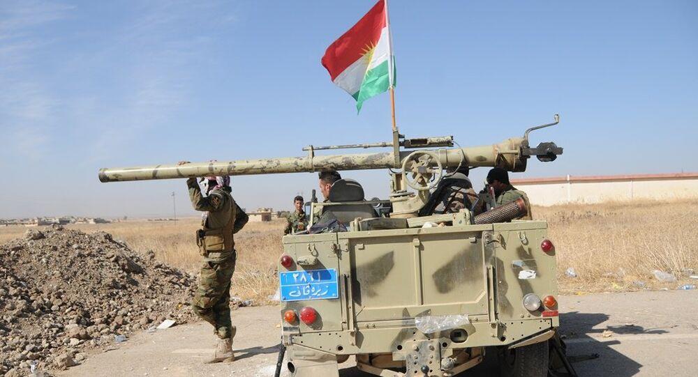 Peşmerge güçlerinin Musul'a ilerleyişi sürüyor.