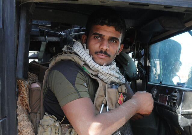 Irak ordusunun Ezidi Kürt askeri Newsal Heci