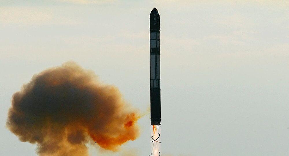 Rus termo nükleer balistik füzesi RS-28 Sarmat