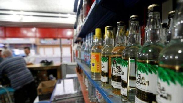 Irak - içki - alkol - Sputnik Türkiye