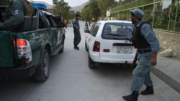 Afganistan polisi / Kabil - Sputnik Türkiye