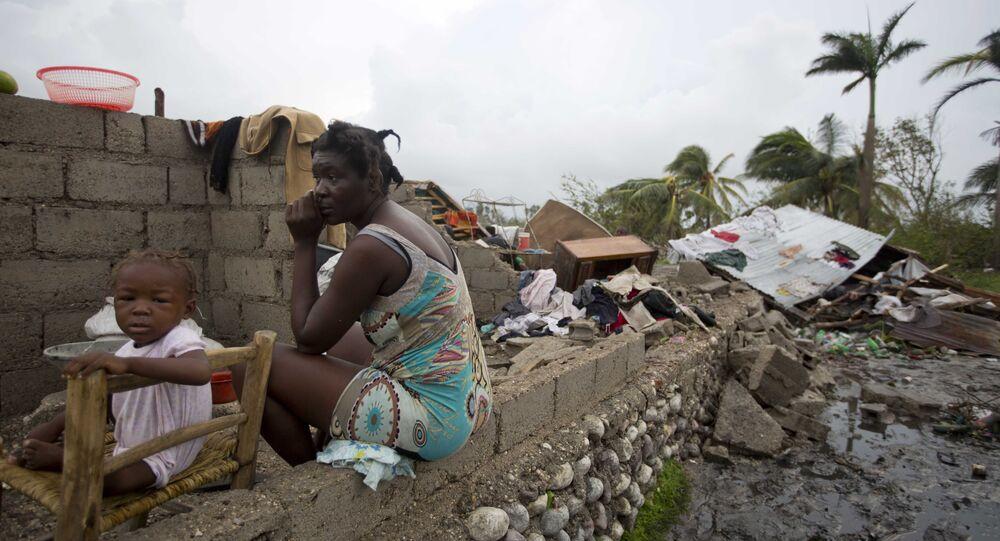 Matthew Kasırgası, Haiti.