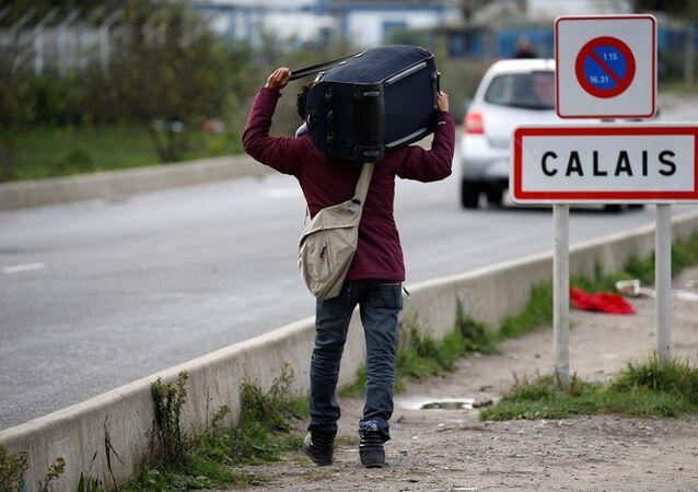 Calais sığınmacı kampı tahliye