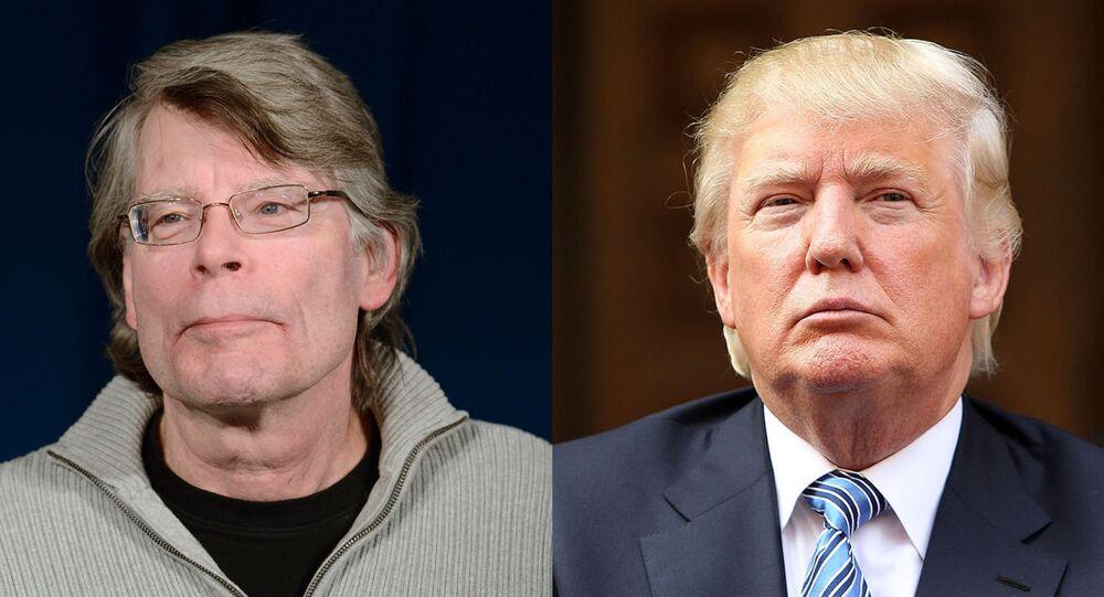 Stephen King ve Donald Trump