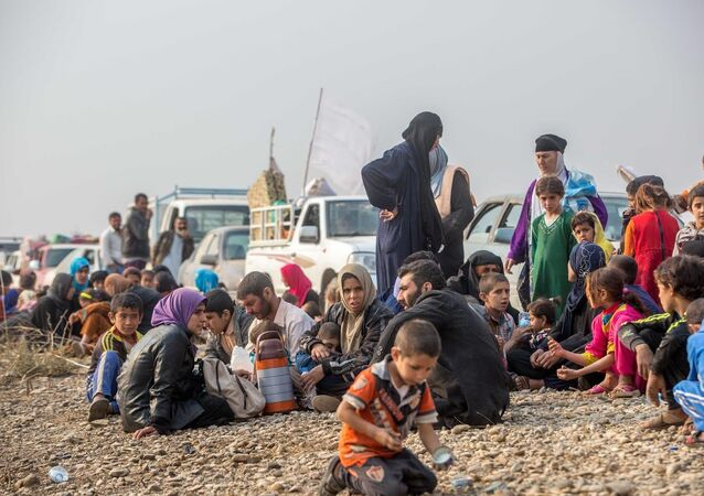 Musul'un merkezine 5 kilometre uzaklıkta olan Tabzava köyünün kurtarılmasıyla köydeki 120 aile de kaçarak Peşmerge güçlerine sığındı.