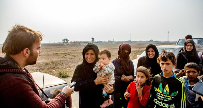 Çoğu sivilin aç ve susuz olduğu görülürken, kaçan siviller arasında kadın ve çocukların da yoğunlukta olduğu görüldü.