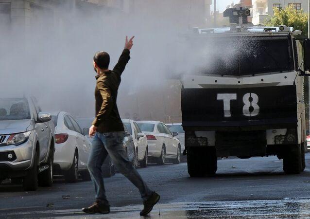 Diyarbakır - Gültan Kışanak, Fırat Anlı gözaltı protestosu