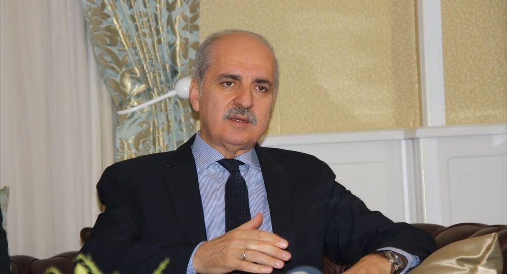 Başbakan Yardımcısı Numan Kurtulmuş, çeşitli temaslarda bulunmak üzere geldiği Erzurum'da Vali Seyfettin Azizoğlu'nu ziyaret etti.