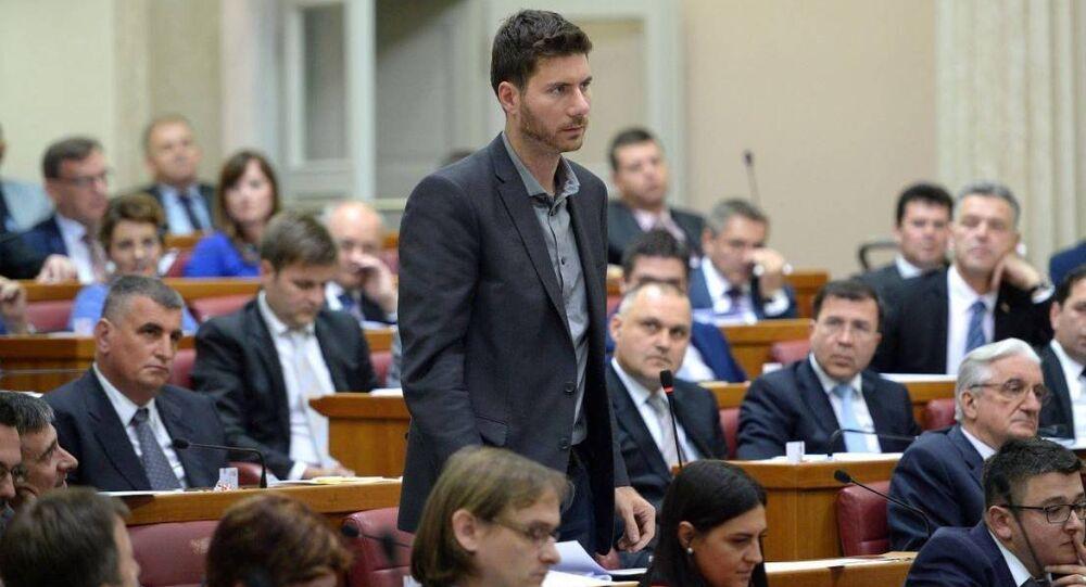 Sırp milletvekili İvan Bernar