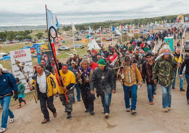 Kuzey Dakota'daki boru hattı protestoları