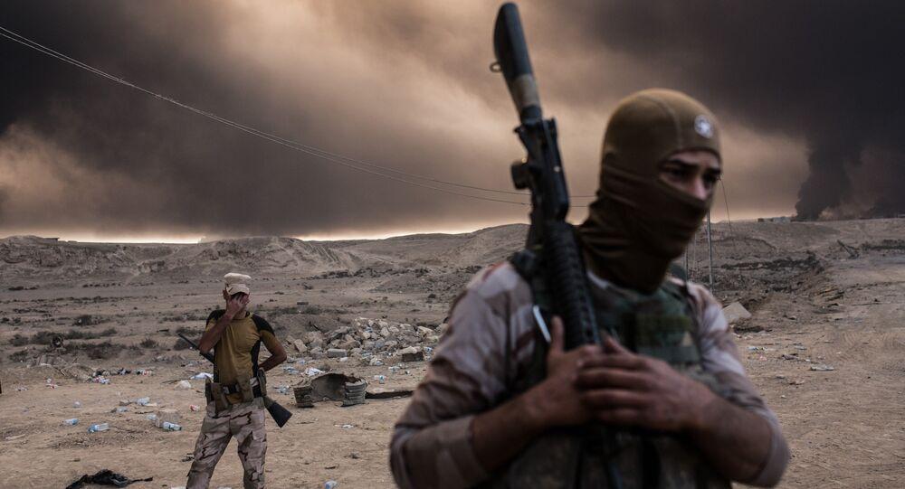 Musul operasyonu / Kayyara Üssü / Irak askerleri