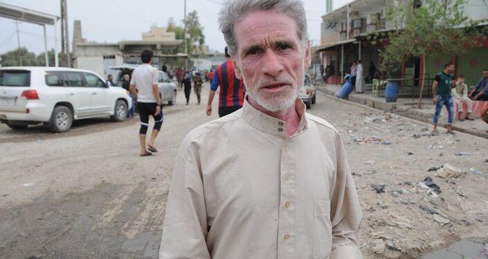 65 yaşındaki Ekid İbrahim IŞİD'in 2 yılı aşkındır köylerini işgal ettiğini anımsattı. İbrahim, bölgenin IŞİD'den temizlenmesinden dolayı çok mutlu olduğunu dile getirdi