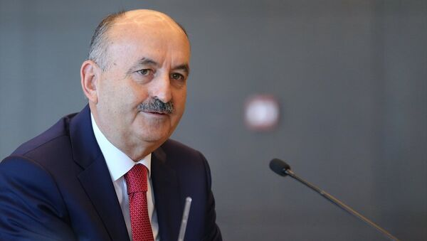 Çalışma ve Sosyal Güvenlik Bakanı Mehmet Müezzinoğlu - Sputnik Türkiye