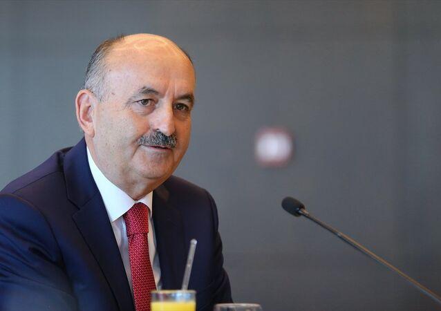 Çalışma ve Sosyal Güvenlik Bakanı Mehmet Müezzinoğlu