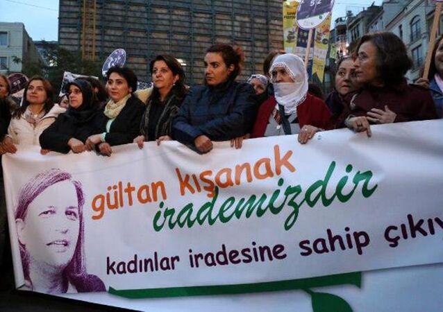 Taksim - Kışanak ve Anlı gözaltı protestosu