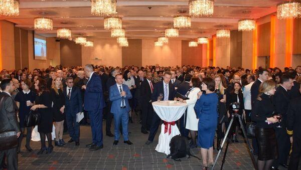 Türkiye'nin Moskova Büyükelçiliği'nden Cumhuriyet Bayramı resepsiyonu - Sputnik Türkiye