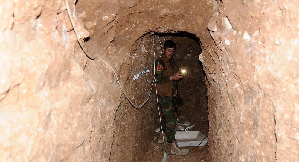 IŞİD tüneli (Arşiv)
