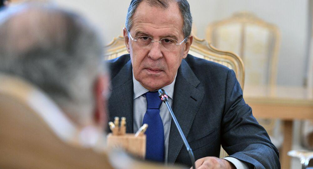 Rusya Dışişleri bakanı Sergey Lavrov, Kıbrıslı mevkidaşı Yannis Kasulidis ile Moskova'da görüştü