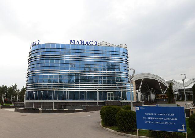 Kırgızistan'ın başkenti Bişkek'teki Uluslararası Manas Havaalanı