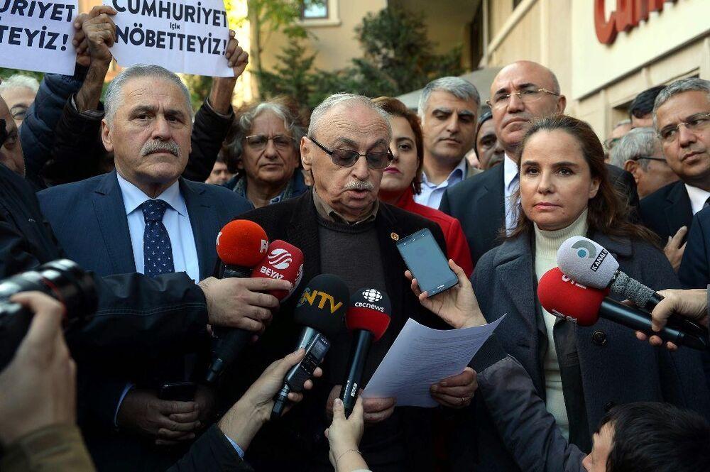 Cumhuriyet Gazetesi Vakfı Yönetim Kurulu Başkanı ve Gazete İmtiyaz Sahibi Orhan Erinç