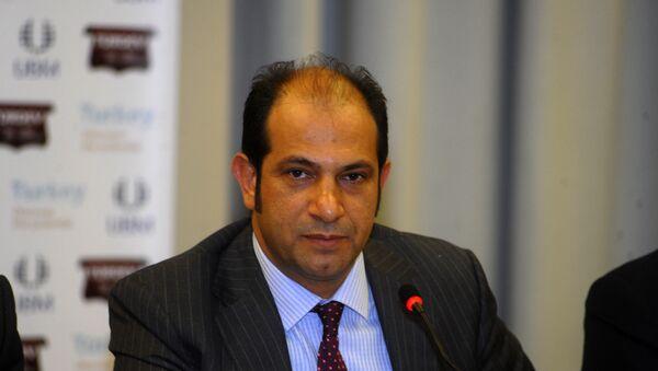 İstanbul Deri ve Deri Mamülleri İhracatçıları Birliği (İDMİB) Başkan Yardımcısı Mehmet Ali Dinç. - Sputnik Türkiye