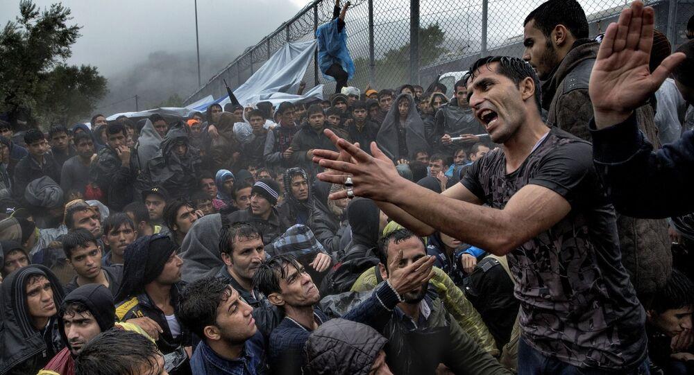 Danimarkalı fotoğrafçı Jacob Ehrbahn'ın çektiği 'Sığınmacı' fotoğrafı.