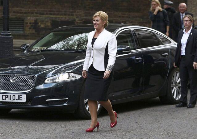 Hırvatistan Cumhurbaşkanı Kolinda Grabar-Kitarovic