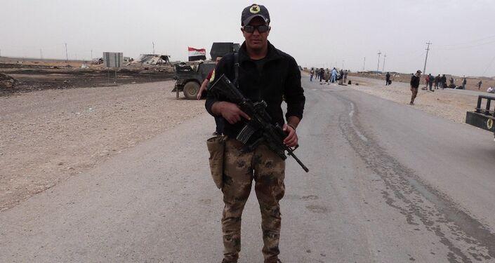 Irak ordusu komutanlarından Ebu Selman, Kahraman Irak askerleri Gorcelil mahallesine girdiler. Bu mahalleye girmek için günlerdir IŞİD ile çatışıyorduk dedi.