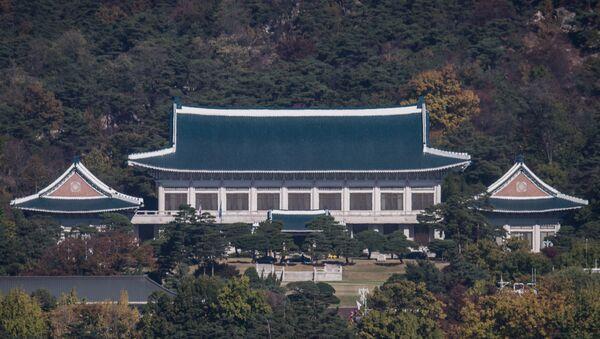 Güney Kore devlet başkanlığı sarayı / Mavi Saray - Sputnik Türkiye